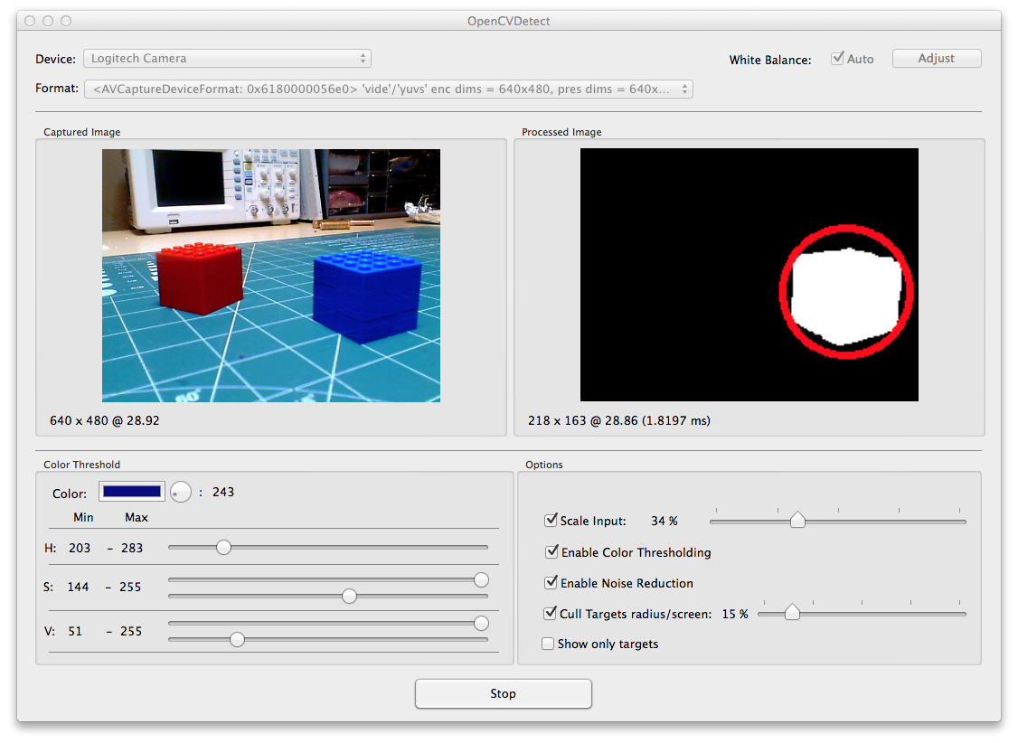Using Opencv For Simple Object Detection Solder Spot