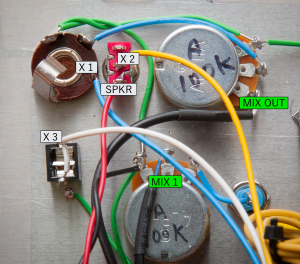 Amp Wiring Details