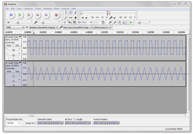 Saund-Box VCO Audio Capture