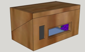 SB Cabinet - With Lid
